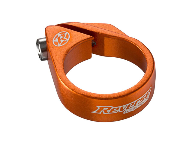 Reverse Bolt Seat Clamp Ø34,9mm orange
